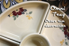 Set of 4 Clematis Omni Trays Outer Decal