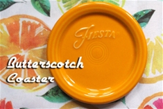 Individual Fiesta Coaster - Butterscotch