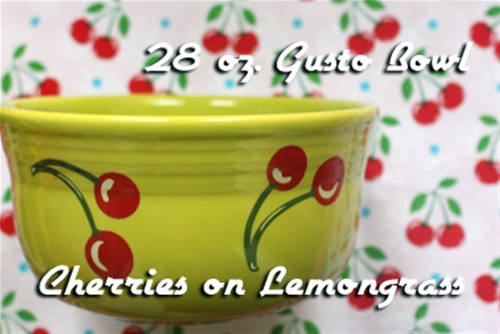Fiesta Cherries on Lemongrass Gusto Bowl